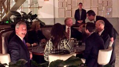 'Dinner with The Donald:' Farage boasts of cozying up to US president. despite getting no invitation