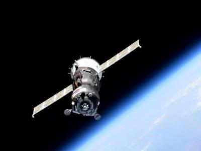 Russian Soyuz Spacecraft Carrying Humanoid Robot Aborts Docking at Space Station