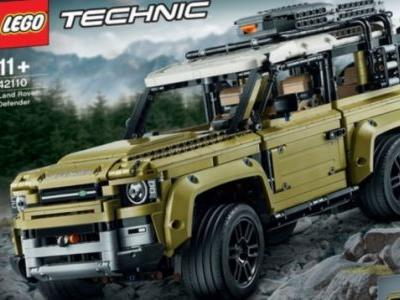 Sure Looks Like Lego Leaked the 2020 Land Rover Defender