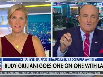 Rudy Giuliani Now Claims He Abandoned Ukrainian Oppo Research Trip Because 'Soros People, Democrats' Surround Its New Jewish President