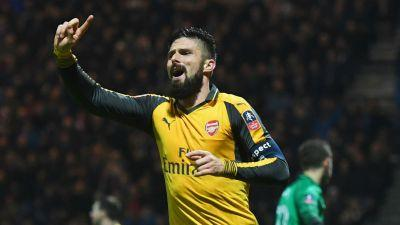 Giroud's sensational run continues as Arsenal remain FA Cup specialists