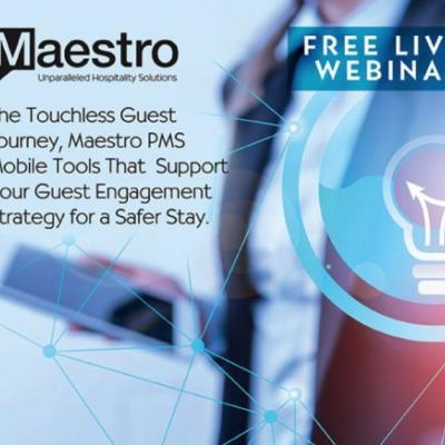 Maestro PMS Announces Webinars to Guide Users Toward a Touchless Guest Journey