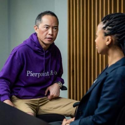 A purple corporate hoodie is the true star of HBO's Industry
