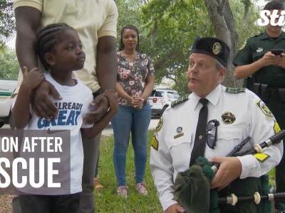 Deputy and boy reunite four years after hot car rescue