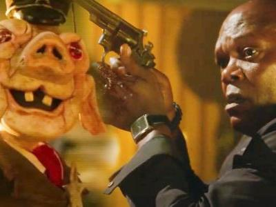 First Two Spiral Clips Ask Samuel L. Jackson to Play a Game Against a Creepy Saw Puppet