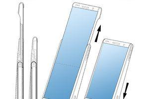 Samsung's rollable display phone takes shape in a patent