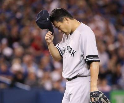 Rare mistake, mediocre Tanaka puts Yankees in strange spot