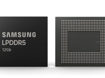 Samsung starts mass production of its new 12Gb LPDDR5 RAM