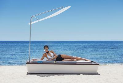 Never worry about sunburn again, thanks to the world's most advanced sun lounger