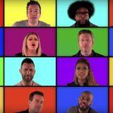 The Voice Coaches Sang an A Capella Mashup of Their Greatest Hits, and It's Pretty Brilliant