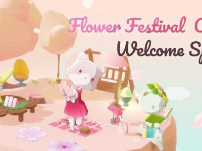 Dear My Cat Launches Spring Blossom Festival update with new cats and a kitty idol band