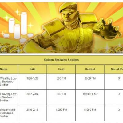 Don't miss any Fight Money! Updated Golden Shadaloo Soldier schedule for Street Fighter V's Extra Battle mode