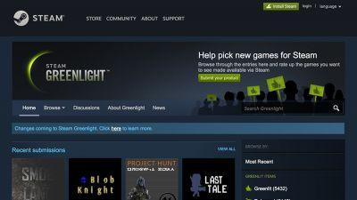 Steam is shutting its Greenlight launching pad for indie game developers