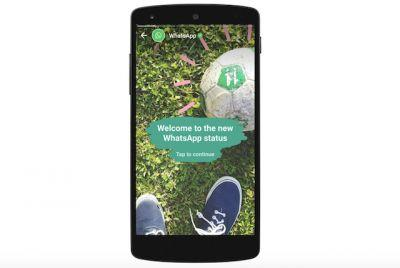WhatsApp Status Is Basically An Encrypted Snapchat Stories