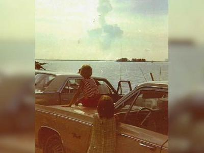 Houston woman remembers watching Apollo 11 launch from beach in Florida