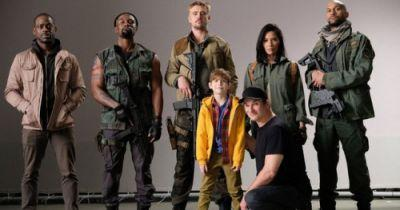 First Look at The Predator Cast as Shooting BeginsDirector Shane