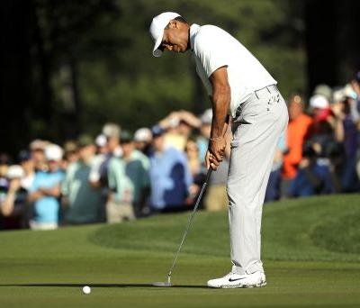 Tiger Woods made the only putt he really needed