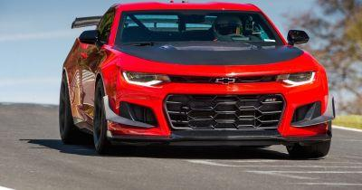 The Chevrolet Camaro ZL1 1LE Just Smacked Down A 7min 16sec 'Ring Time