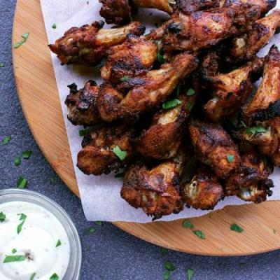 Low Carb Baked Chicken Wings