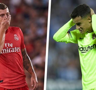 Humiliated! Real & Barcelona both embarrassed on a crazy night in La Liga