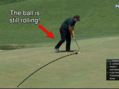'I think he just snapped' - Phil Mickelson took one of the most bizarre penalties you'll ever see when he intentionally hit a moving ball