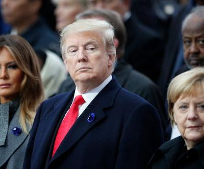 Trump joins world leaders to mark 100 yrs. since end of WWI