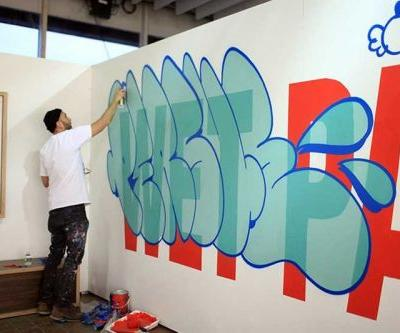 "Persue Launches ""Wet Paint"" Exhibition in Tokyo's Basement Ginza"