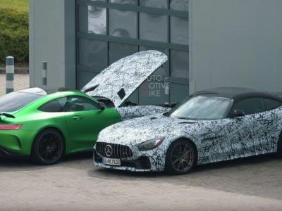 At This Point the 2020 Mercedes-AMG GT Black Series Is Pointless