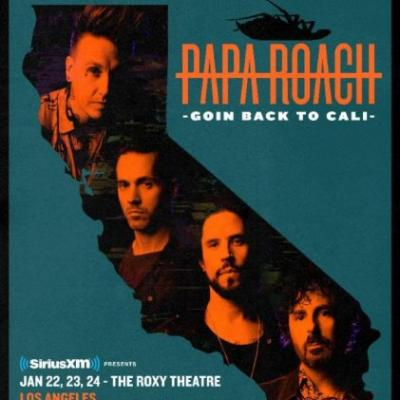PAPA ROACH Announces Intimate California Shows To Celebrate Release Of New Album