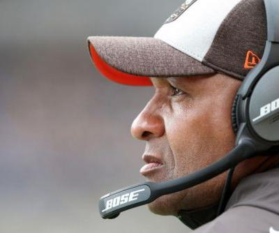 Bengals hire fired Hue Jackson to assist Marvin Lewis