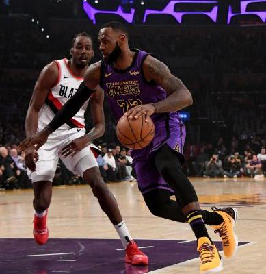 Lakers' LeBron James passes WIlt Chamberlain for fifth place on NBA all-time scoring list