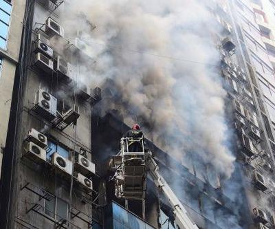 Several dead, dozens injured after fire rips through Bangladesh high-rise building