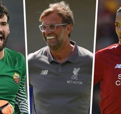 How Liverpool will line up in 2018-19