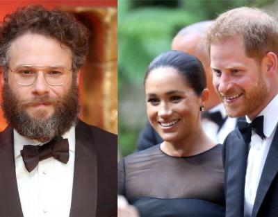 Seth Rogen's Comments About Royal Protocol Rules For Meeting Meghan & Harry Are So Funny