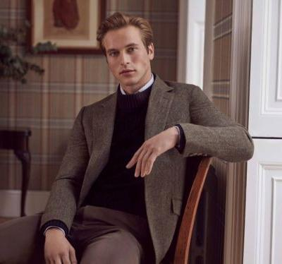 Jules Raynal Goes Sartorial for Huntsman Fall '18 Campaign