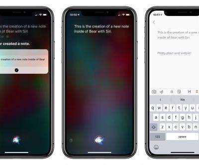 Bear 1.6 for iOS 12 introduces Siri and search, better note navigation, and sync improvements