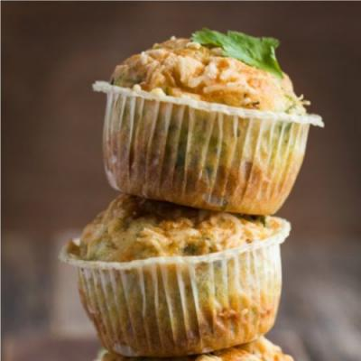 Cheese Muffins | Easy, Cheesy