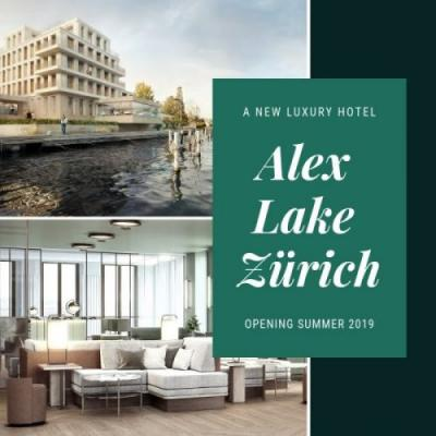 A New Luxury Hotel for Lake Zurich