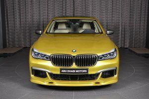 Austin Yellow BMW M760Li Looks Like A Big M4