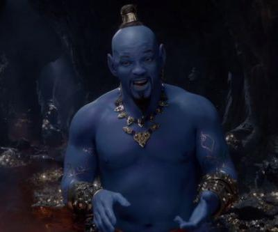 New Aladdin trailer from the 2019 Grammys introduces Will Smith's Genie