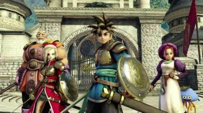 Nintendo Switch: Dragon Quest Heroes is Bigger Than Internal HD