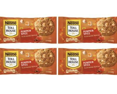 Nestle's Pumpkin Spice-Flavored Filled Baking Truffles Will Have You Ready For Fall