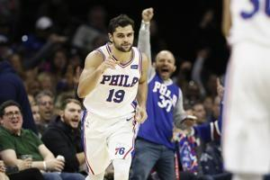 Embiid scores 18, leads 76ers past Hornets 114-106