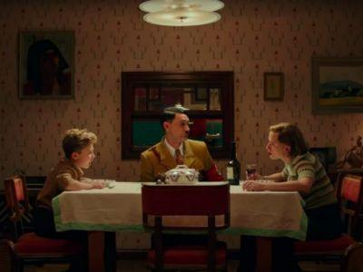 'Jojo Rabbit' Clip: No Politics, Just Imaginary Hitler, Allowed at the Dinner Table