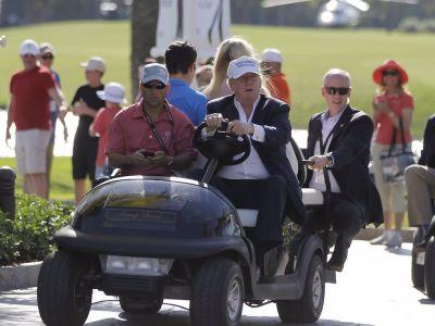 It is looking more and more like Trump will make a surprise visit to the US Women's Open being held at his course
