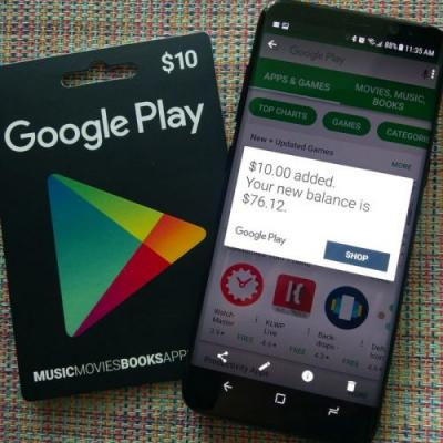 Save on your digital purchases with this discounted Google Play gift card