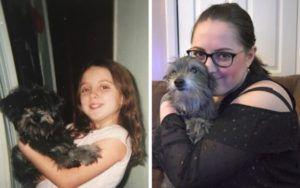 Woman Unknowingly Adopts Her Childhood Dog 7 Years After They Were Separated