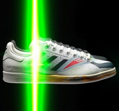 Raf Simons turns Stan Smiths into vintage sneakers for new collab