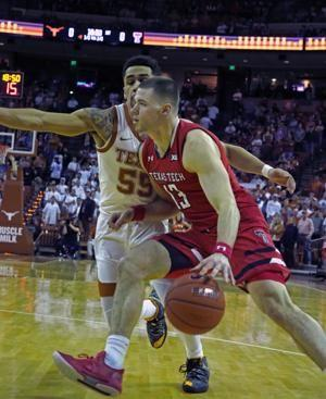No. 8 Texas Tech gets rare win at Texas 68-62
