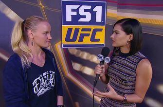 Valentina Shevchenko talks to Megan Olivi | WEIGH-INS | INTERVIEW | UFC 228